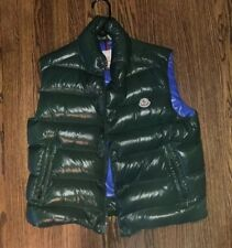 Moncler Vest Mens Tib Retail $650 Green Size 3 (L), Pre-owned.