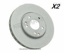Mercedes W208 W210 Brake Disc Front COAT 'Z' (x2 rotors) Zimmerman R170 320 420