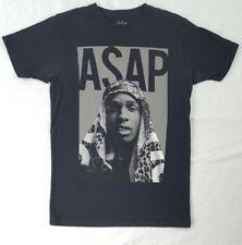 A$AP Asap Rocky Worldwide black tee T Shirt Hip Hop Rap Music Artist Size Small