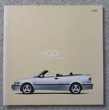 SAAB 9-3 Cabriolet - Prospekt Brochure - 2000 - 32 Seiten