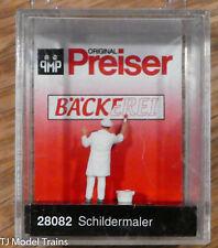 Preiser Ho #28082 Sign Writer (Figure)