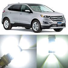 Alla Lighting Brake Turn Signal Light 3157 White LED Bulbs for 2007~14 Ford Edge