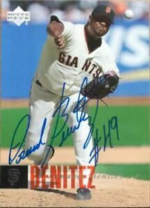 Armando Benitez Autographed 2006 Upper Deck #386