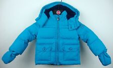 PEUTEREY Holly BABY Parka Giacca Giacca Bambini Unisex Blu Tg. 80 NUOVO con etichetta