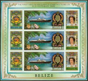 Belize 1985 Royal Visit SHEETLET glossy MASTER PROOF