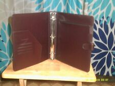 New Listingcambridge Day Planner Binder Large Monarch Brown 85 X 11 125 Rings