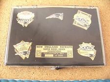 2005 SB Super Bowl XXXIX 39 Champions 5 pin set NE New England Patriots champs