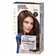 2 x  Clairol N Easy Root Touch-Up 5 Medium Brown In 10 Minutes Hair Dye NEW