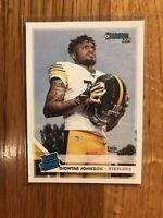 Diontae Johnson (Rated Rookie) - 2019 Donruss  Steelers NFL Panini RC Card # 327