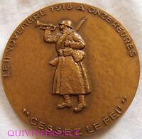 MED3862 - MEDAILLE CINQUANTENAIRE DE LA VICTOIRE 1918 - 1968 par DELAMARRE
