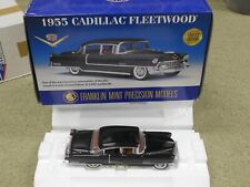 Franklin Mint 1955 Cadillac Fleetwood LE 1:24 Scale Diecast Car