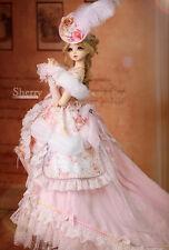 BJD Angell-Studio 1/3 Sherry Rococo Rose ver. 2 Fullset Outfit Dress