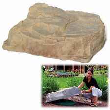 DekoRRa Sandstone Model 112SS Fake Rock Septic Cover - Must Know Sizing Tips