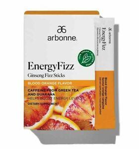 SALE ARBONNE Energy Fizz Sticks Ginseng Fizz Blood Orange Flavor 30 Stick Packs