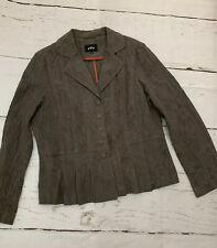 Ladies Per Una  Cotton Blend Lace Blazer Size 16/18