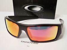 OAKLEY Gascan 9014 26-246 Matte Black / Ruby Iridium Sunglasses New Original