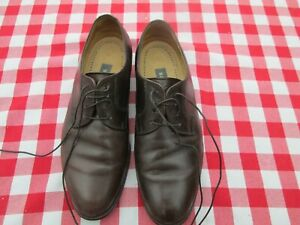 Bally Mens Brown leather shoes, Size 41 (UK 7.5), Very Good condition Hard worn