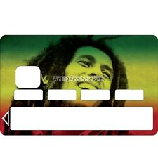Stickers Autocollant Skin Carte bancaire CB Bob Marley 1075 1075