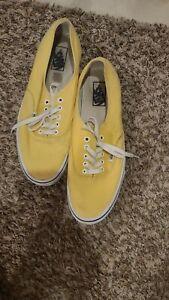 Vans Authentic Yellow 11.5