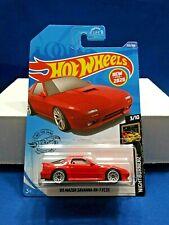 2020 Hot Wheels '89 Mazda Savanna RX-7 FC35 Nightburnerz #3/10 Red Die-Cast New