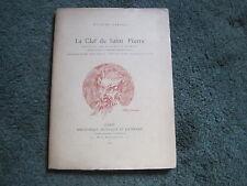 Hugues REBELL: la clef de Saint Pierre.  ballet E.O. 1897, illustrations, front.