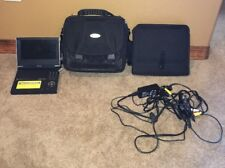 """Toshiba SD-P1600 Portable 7"""" DVD Player Fold-able With Wires And Case"""