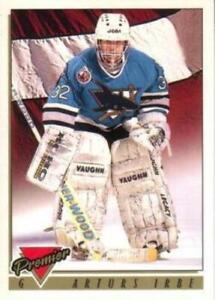 #442 Arturs Irbe - San Jose Sharks - 1993-94 O-Pee-Chee Premier Hockey