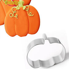 Halloween Decorating Stainless Steel Pumpkin Pastry Cake Cookie Cutter Fondant