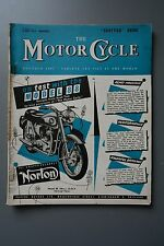 R&L Mag: The Motor Cycle 2 May 1957 BSA Dandy Service/Sidecar Brakes/Touring