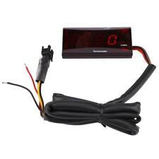 Tachimetro Digitale LED Misuratore Velocità 0-20000RPM Contagiri Universale Moto
