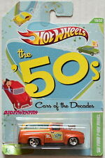 HOT WHEELS THE '50S CARS OF THE DECADES '56 FORD F-100 PANEL W+