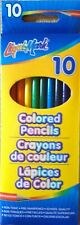 LiquiMark Colored Pencils Non Toxic Pre Sharpened 10 Per Pack For Ages 3 And Up