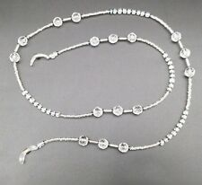 Clear Elegant Beaded Eyeglass Glasses Chain Neck Cord Lanyard Holder