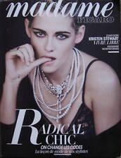 Revue Madame Figaro de septembre 2017, couverture Kristen Stewart