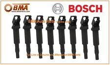 NEW OEM BOSCH BMW E60 E63 E64 F10 IGNITION COIL SET 8x 12138647689 / 0221504470