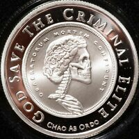 2016 Silver Shield Slave Queen 1 oz .999 Ag Proof Grateful Death Round