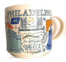Starbucks Mug Philadelphia Been There Series Coffee Cup 14 oz 011086596 PA