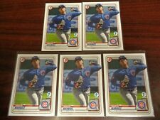 2020 Bowman 1st Edition Brailyn Marquez #BFE-49 RC Lot of 5-CUBS