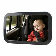 Baby Mirror for Car - Largest and Most Stable Backseat Mirror Safe and Secure