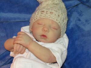 """Reborn Doll Realborn Dustin Asleep, 20"""" 4 Lbs. 11 Oz. COA"""
