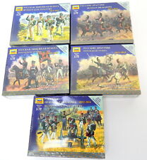 Zvezda 1/72 Russian 1812-1814 Infantry Cavalry Soldier Sets 5 Different New!