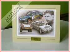 Subaru Legacy RS rally Colin McRae Prodrive Rothmans Team print MAD Graf art