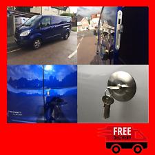 Ford Transit Custom 2012> Rear Van Security Deadlock Hooklock Kit With Hykee