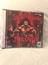 Splatterhouse Trilogy Beats of Rage Sega Dreamcast Game