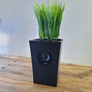 Hidden Vase Case for Nest IQ Indoor Cam - Secret Desk Shelf Nanny Google Hide