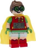 LEGO The Batman Movie Dc Robin Minifigure Digital Alarm Clock