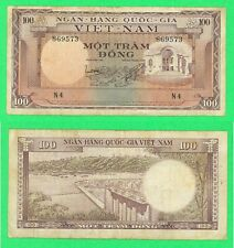 New listing South Vietnam 100 Dong Banknote, Used, P18,1966,# 869573