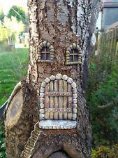 Gartendeko Fairy Door Elfentür Feentür Trolltor Maustür Relief Gnome Steinguss