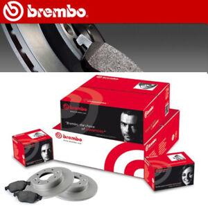 BREMBO BREMSSCHEIBEN Ø 240 mm + BREMSBELÄGE VORNE FIAT 500 1,2 + FORD KA II 1.2