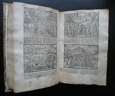 1567 Biblia Sacra Latin Bible Renaissance Woodcuts Vellum Guliel Rovillium Lyon